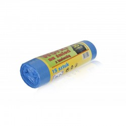 Worek na śmieci 35 L z tasiemką HDPE